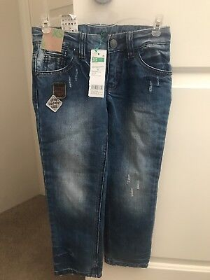 Brand New Benetton Kids Regular Fit Jeans Size 4-5 Years