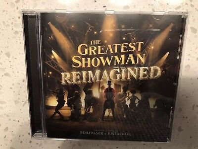 The Greatest Showman Reimagined Soundtrack CD 2018 - Panic At The Disco, Pink