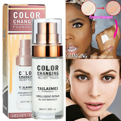 30ML TLM Color Changing Foundation Liquid Concealer Change To Your Skin Tone
