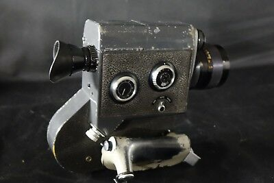 Vintage Canon Scoopic-16 16mm Movie News Film Camera with Case - TESTED