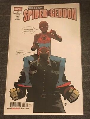 Edge Of Spider-Geddon #3 (Of 4) 1st Print Sold Out 1st App (2018, Marvel Comics)