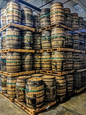 SALE  Cheapest Price AUTHENTIC Kentucky Whiskey Bourbon Barrels 53 Gallon