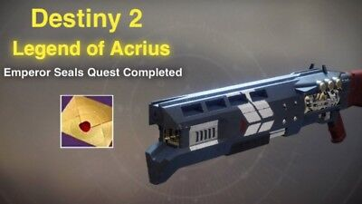 Destiny 2 Legend of Acrius Exotic Quest PS4 Recovery!!