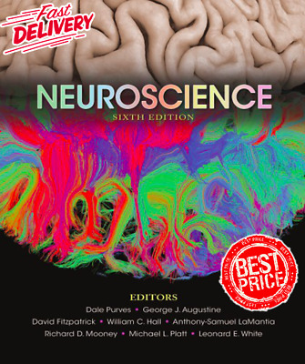 Neuroscience 6th Edition by Dale Purves [EB00K-PDF] Fast Delivery