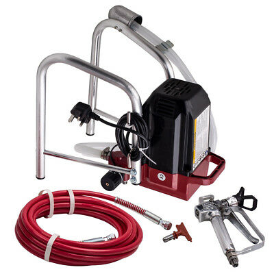 2900psi 400w COMMERCIAL ELECTRIC AIRLESS AIR INTERIOR WALL PAINT SPRAYER SPRAY