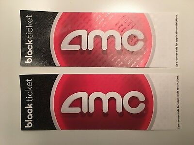 Pair of AMC Black Movie Tickets - NO EXPIRATION!!!