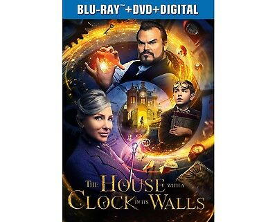 THE HOUSE WITH A CLOCK IN ITS WALLS (Blu-ray/DVD/Digital ALL INCLUDED)