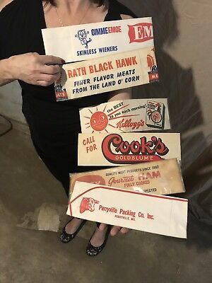 Vintage Paper Advertising Display Hats
