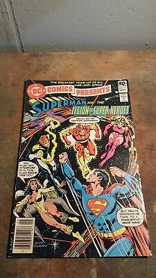Dc Comics Presents #13, 1979, Dc, Copy, Superman, The Legion