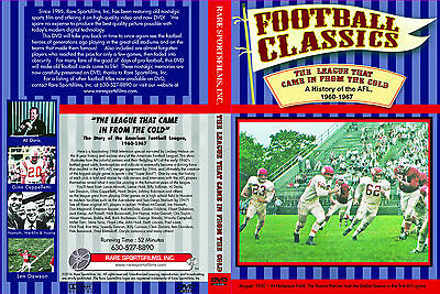 The Story of The American Football League, 1960-1967, now on DVD in COLOR!