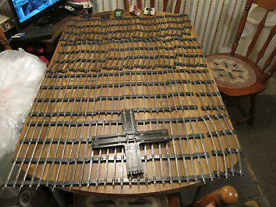 Large Lot of American Flyer Lightly Used Track S Gauge