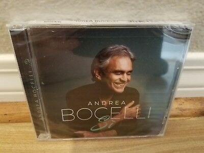 ANDREA BOCELLI Si New CD 2018 BRAND NEW SEALED Package