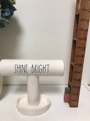 NEW! RAE DUNN SHINE BRIGHT BRACELET RING JEWELRY HOLDER New With Tag