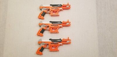 Lot of 3 Nerf  N-STRIKE Elite Accustrike Falconfire Dart Guns FREE SHIP