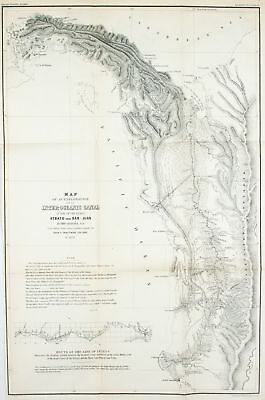 1854 Colombia Antique Map