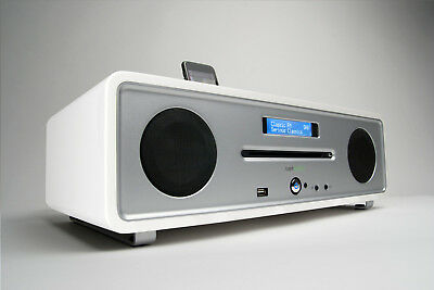 Ruark R4i Integrated Music System White (RRP $1,299)
