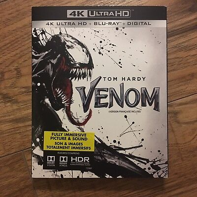 Venom (4K Ultra HD + Blu-Ray + Digital, 2019)