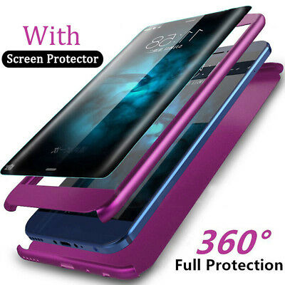 Luxury 360° Shockproof Full Cover Hard Case For Samsung Galaxy Note 9 S9 A8 Plus