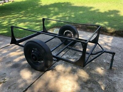 Vintage 6 x 4 trailer suit Hotrod Chev Ford wire wheels