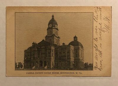 1907 Cabell County Courthouse Huntington, WV West Virginia