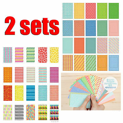 40 pcs/2 Sets Instant Films Sticker For FujiFilm Instax Mini 8 7s 25 50s #1