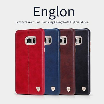 Nillkin Englon Premium Stitched Faux Leather Case Cover Samsung Galaxy Note FE