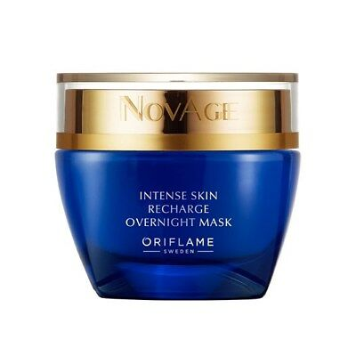 Oriflame NovAge Intense Skin Recharge Overnight Mask 50ml NEW
