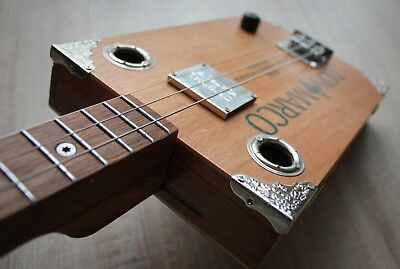 Cigarbox Gitarre | Don Marco - silver & wood