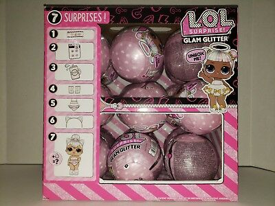 LOL SURPRISE GLAM GLITTER SERIES DOLL Big Sister - Maybe you'll get Kitty Queen