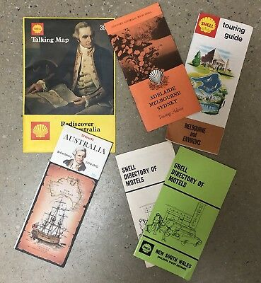 Shell Oil Maps Directories Touring Guide Talking Map Collectables