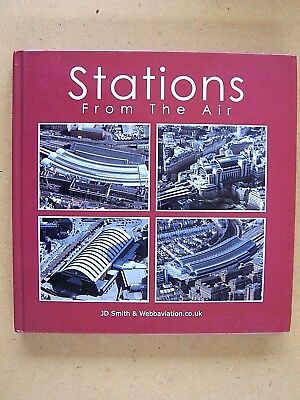 """""""stations From The Air."""" Railway Of Britain. Book."""