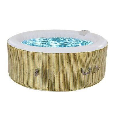 Piscinas Hinchable Desmontables 180x180x65cm Masaje Spa Pool Inflatable