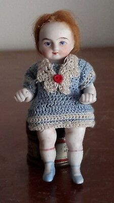 Antique miniature bisque doll