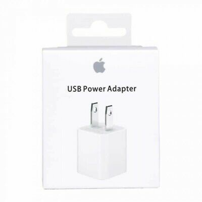 OEM 5W USB Wall Charger Cube Power Adapter Plug Apple iPhone 5 6 7 8 X XR XS MAX