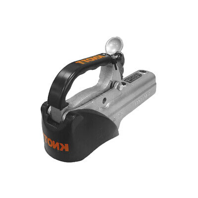 Knott Unbraked Coupling Cast Trailer Hitch 50mm & Lock - BQ-27 with lock