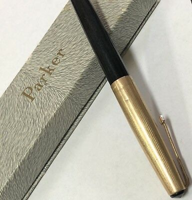 Vintage Parker Fountain Pen 12ct Rolled Gold