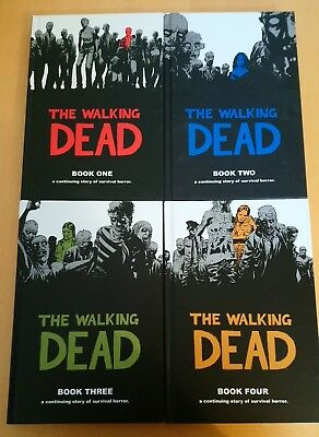 The Walking Dead Book Volumes 1 - 4 (Local collection only)
