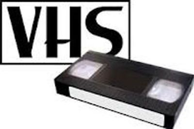 VHS VCR VIDEO TAPE  TO DVD ~ Transfer/Copy Service 5 TAPE MINIMUM