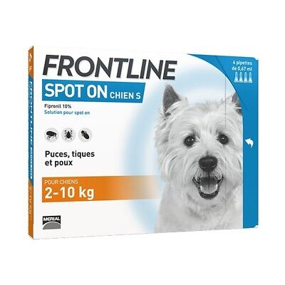 Frontline Spot-On S Chien (2-10 kg) - 6 pipettes