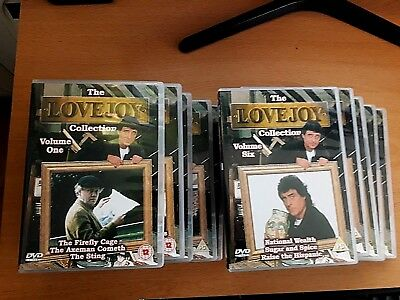The Love Joy Collection Volumes 1-10 (Series 1 & 2 & 1st 9 Episodes of Series 3)