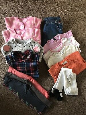 Baby girl 12-18 months bundle of clothes-Next-11 Items