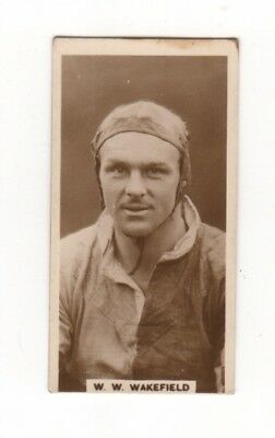 Rugby Union Cigarette Card - W. W. Wakefield