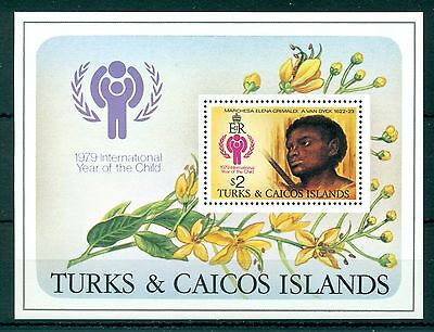 TURKS & CAICOS *1979* S/Sheet *MNH** Year of the Child - Mi.No BL15