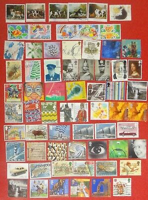 British Stamps 66 x USED as per photo