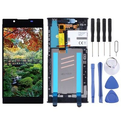LCD Screen+Digitizer Full Assembly+Frame for Sony Xperia L1 G3311 G3312/13 Black