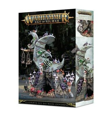 Gloomspite Gitz Bad Moon Loonshrine Games Workshop Age of Sigmar Brand New