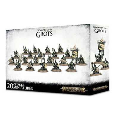 Gloomspite Gitz Grots Games Workshop Warhammer Age of Sigmar Brand New