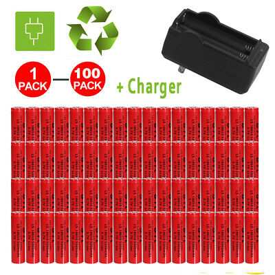 Wholesale 3.7V 18650 Li-ion 5300mAh Rechargeable Battery for Flashlight Torch VP