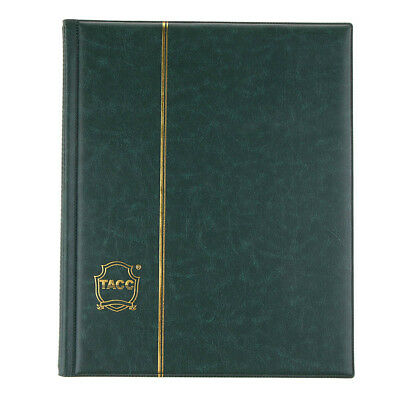 200 Pockets Coin Holder Currency Collection PU Album Book Collector Supply C