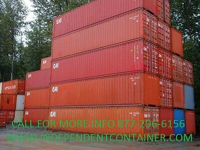 40' High Cube Cargo Container / Shipping Container / Storage Unit in Savannah GA